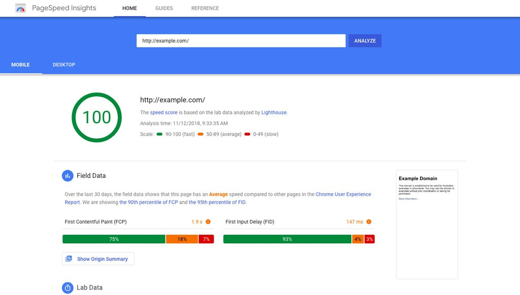 Webseite optimieren